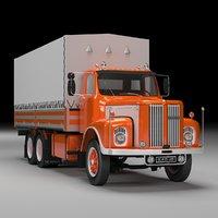 scania 110 truck 3D
