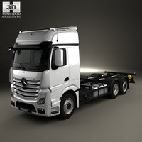 Mercedes-Benz Actros Chassis Truck 3-axle 2011