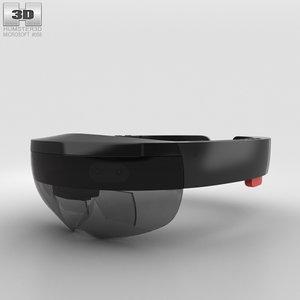 3D microsoft hololens holo