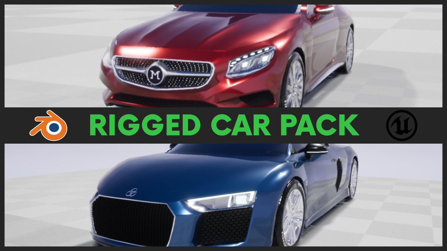 3D car games audi mercedes