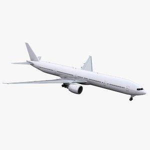 777-300 generic 3D model