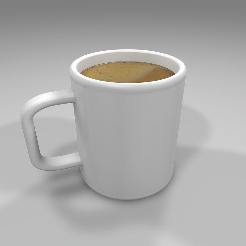 3D mug medium