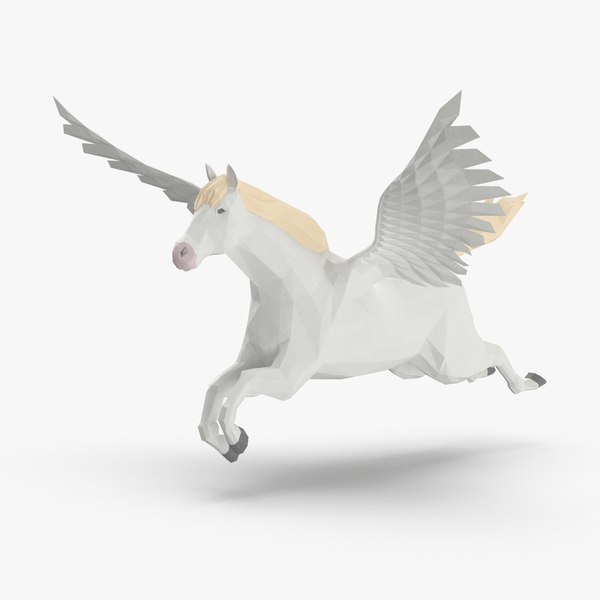 pegasus---flying 3D model