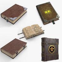 3D book 1 5 model