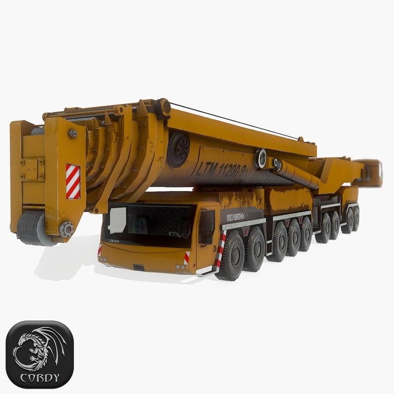 liebherr ltm 11200 3D model