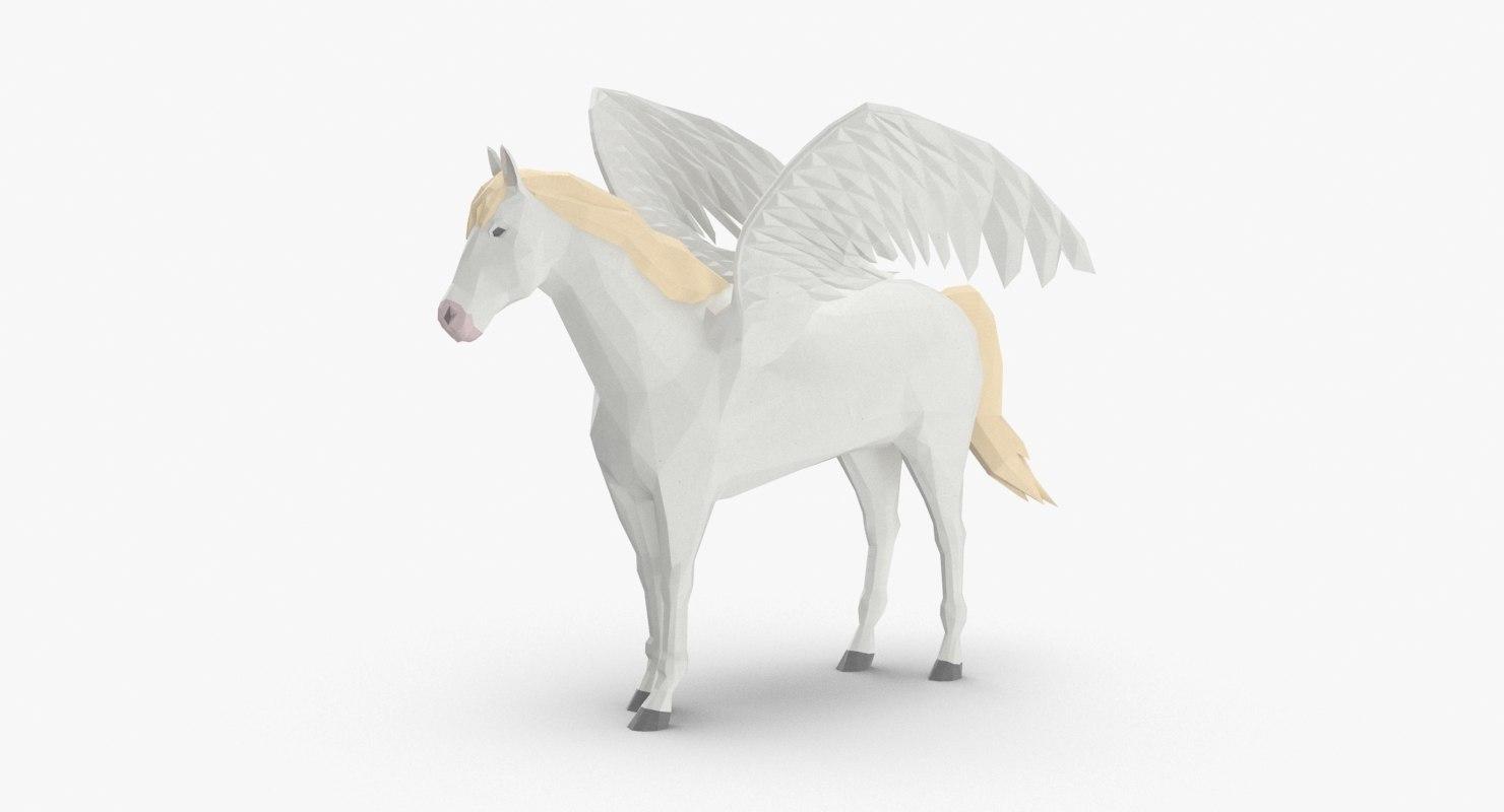 3D pegasus---standing