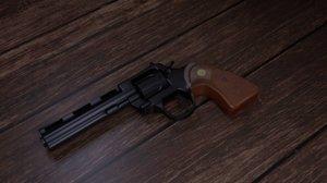 3D 357 revolver model