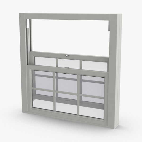 standard-windows---window-3-open 3D model