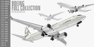 3D boeing planes generic model