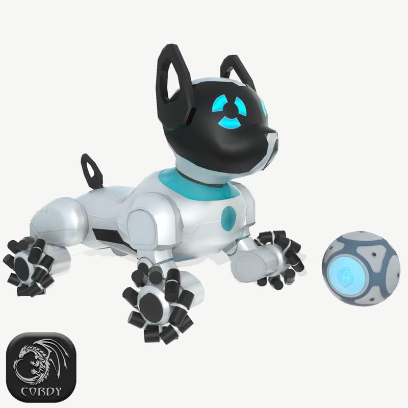 3D chip dog