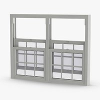 standard-windows---window-5-open 3D model
