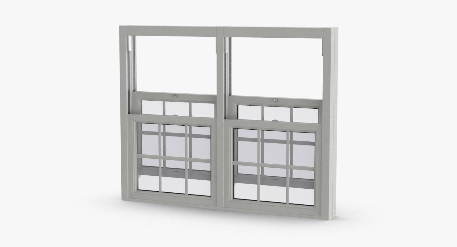 standard-windows---window-5-open 3D model