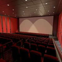 Movie Theater Interior