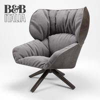 3D armchair beb italia tabano