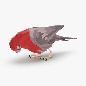 bird----red-bird-pecking model