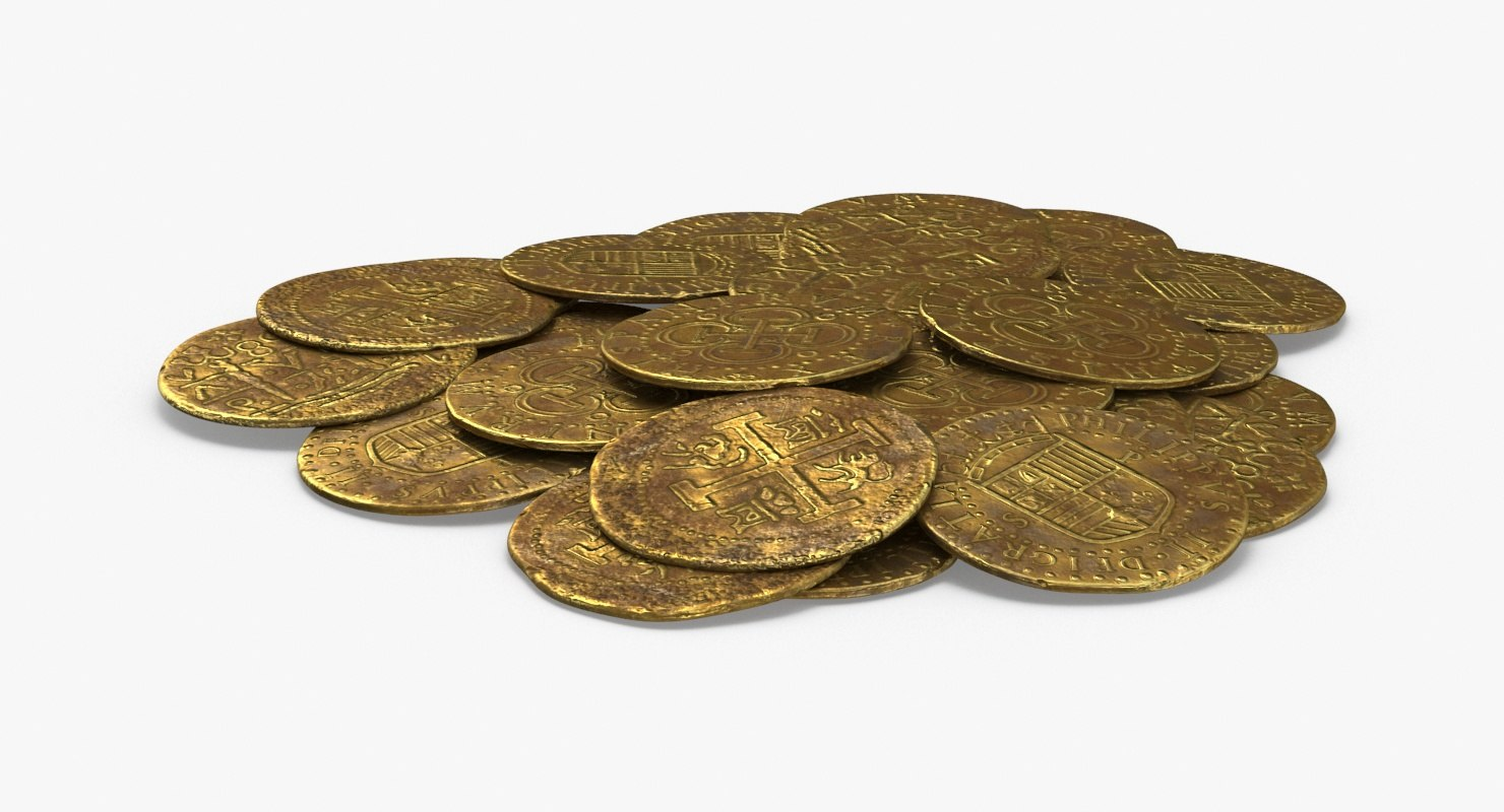 3D gold-coins-dirty---coin-pile
