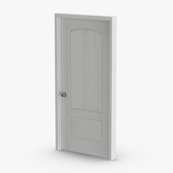 3D exterior-doors---door-3-closed model
