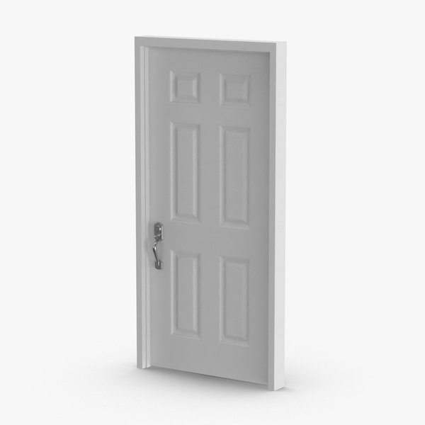 exterior-doors---door-5-closed 3D model