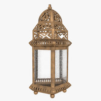 moroccan lantern lights model