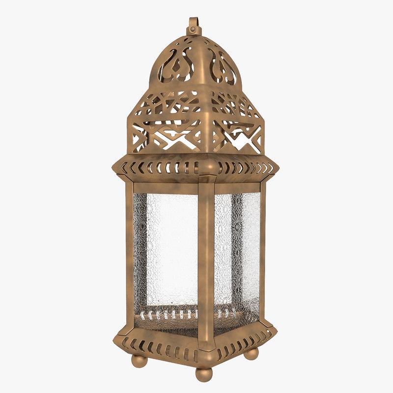 moroccan lantern lights model