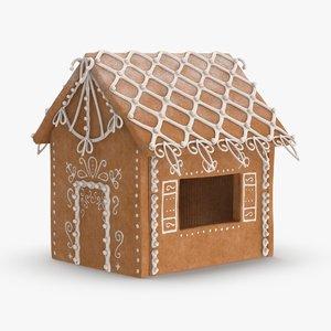 gingerbread-house-01 3D model