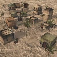 outpost desert vue 3D