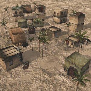 outpost desert vue 3D model