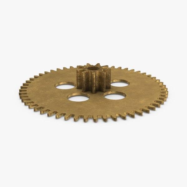 clock-gears-01---version-2 3D model