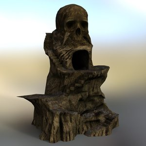 3D rock mountains daz studio