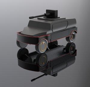 hum vee 3D model