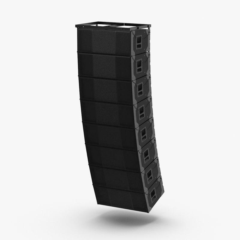 stage-speaker-03 3D