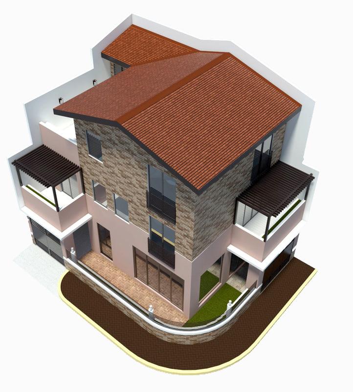 residential 3D model
