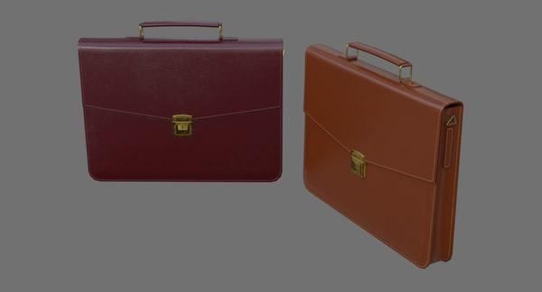 3D briefcase 1a