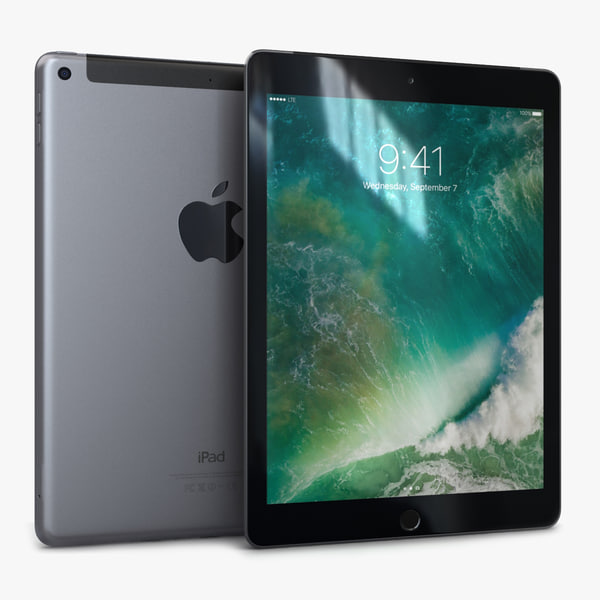3D apple ipad 9 7 model