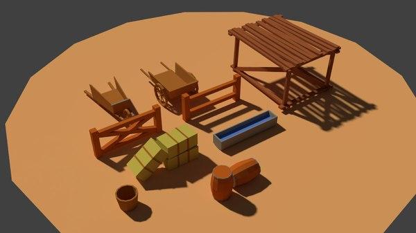 3D miscellaneous farm