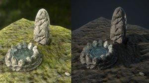 fantasy fairy tale 3D model