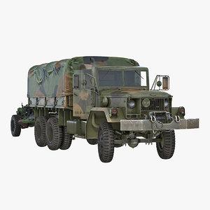 military truck m35a2 field model