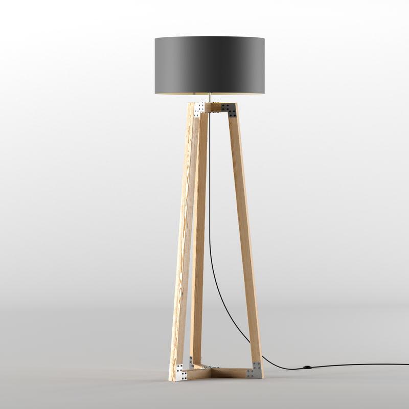 3D modern stand light