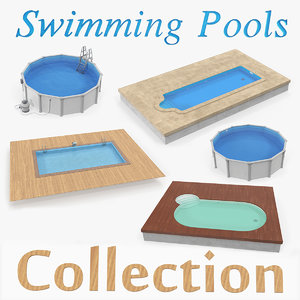 swimming pools 3D model