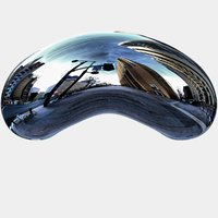 3D chicago bean