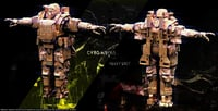 future soldier cybo guns 3D model