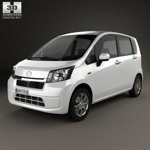 daihatsu 2012 3D model