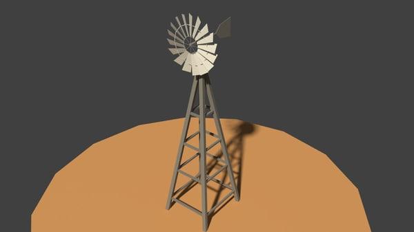 water wind 3D