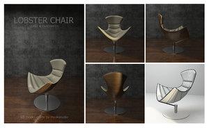3D model lobster chair