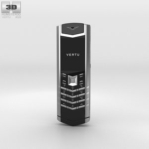 3D vertu signature s model
