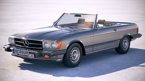 3D mercedes sl usa
