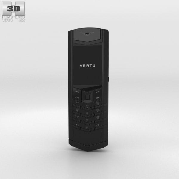 vertu signature s 3D model