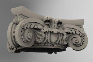 3D cnc print model