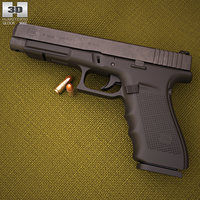 3D glock 41 gen4 model