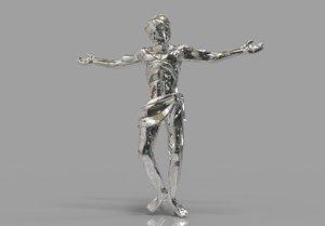 jesus christ 3D model